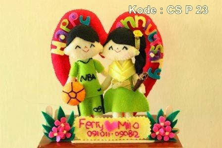 Boneka Couple Anniversary