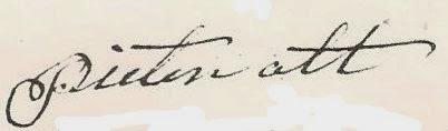 gen.2: Pieter Ott ( ? - 1798)