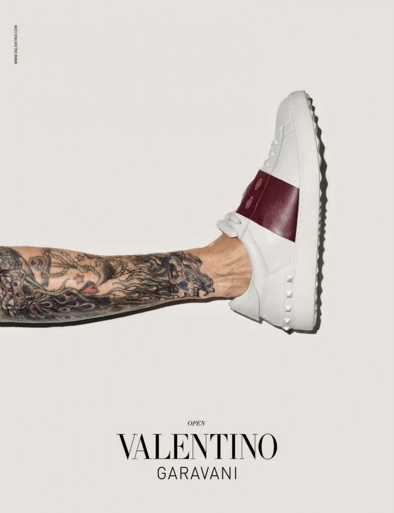 Valentino sneakers aw14 by dan hasby oliver details style syndicate