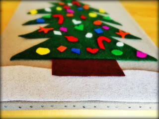 Felt Board Christmas Tree and Ornaments