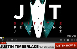 Justin Timberlake - Suit & Tie Lyrics (Audio) ft. JAY Z