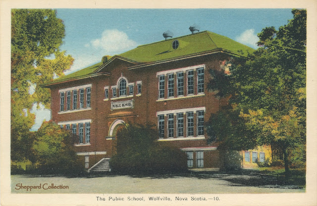 postcard collection wolfville the sheppard collection