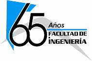 Logo 65 años de la Facultad de Ingenieria