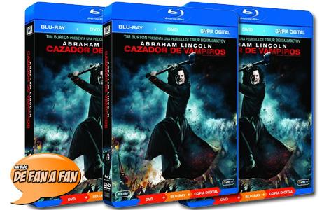 Gana uno de los 3 Blu-ray de Abraham Lincoln: Cazador de Vampiros,