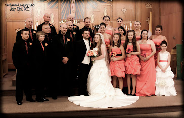 Mr and Mrs Nicholas Mousseau Wedding Party