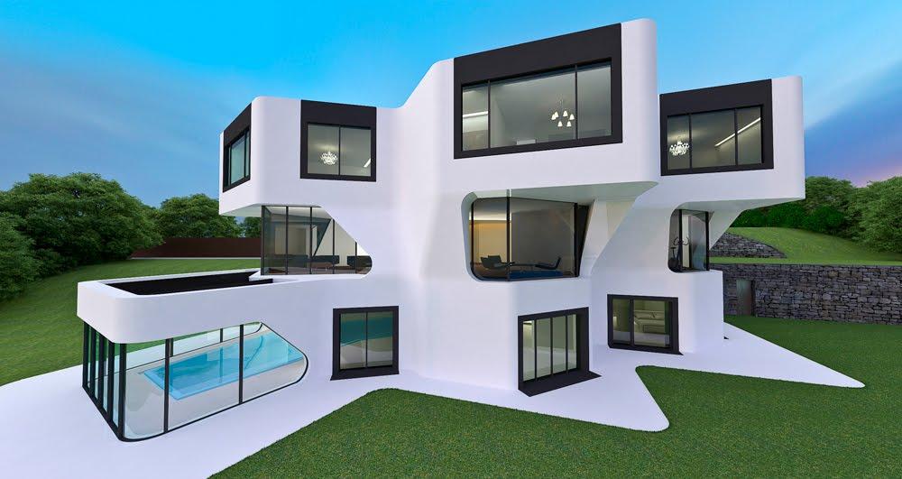 21st Century Architecture Futuristic Homes Architecture