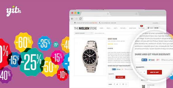 WooCommerce Share For Discounts v1.0.7 – YIThemes