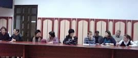 Aspect din timpul şedinţei CNHGS-Iaşi, 17.I.2012...