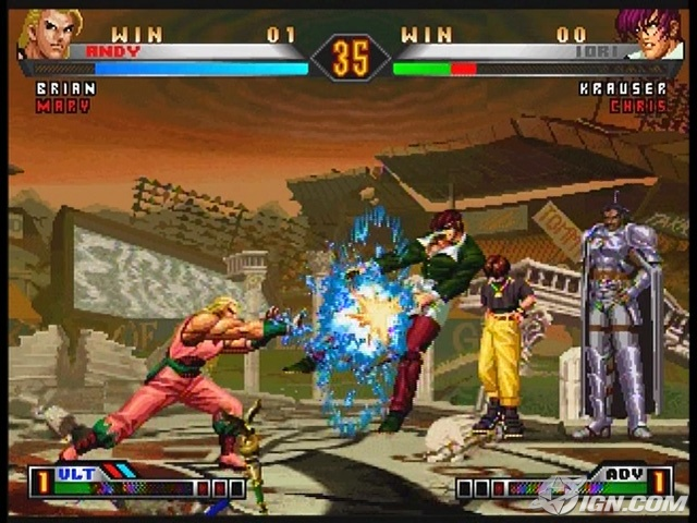 boards king fighters ultimate match