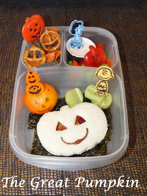 Pumpkin Charlie Brown easylunchboxes