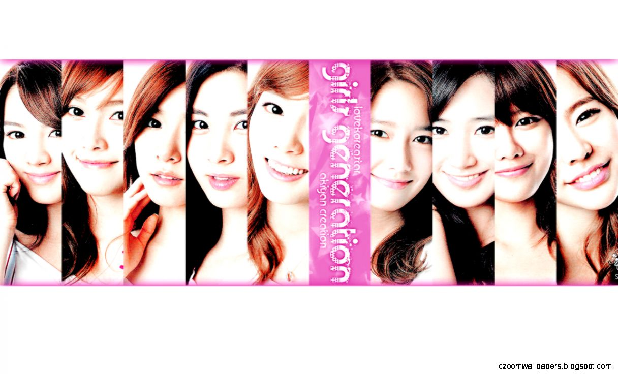 Wallpapers Girls More Generation Snsd Widescreen 1280x800