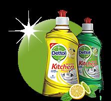 free sample of Dettol liquid