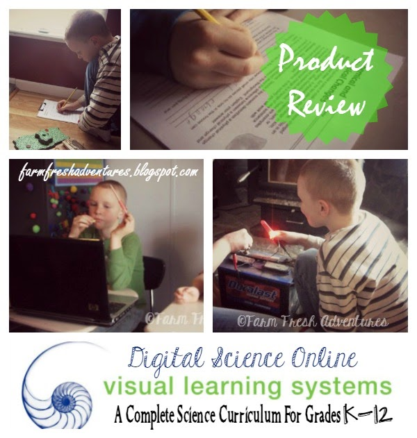 visual learning system: online science curriculum
