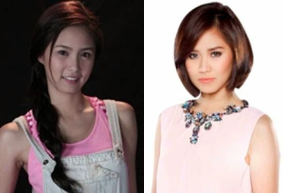 Kim Chiu and Sarah Geronimo