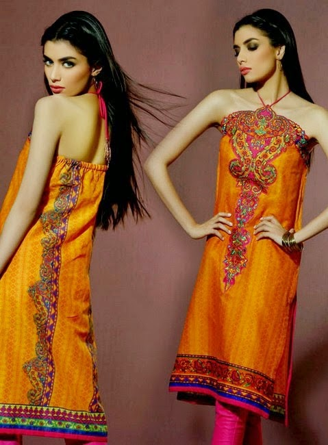 Ready to Wear Eid Collection 2014 by Umar Sayeed