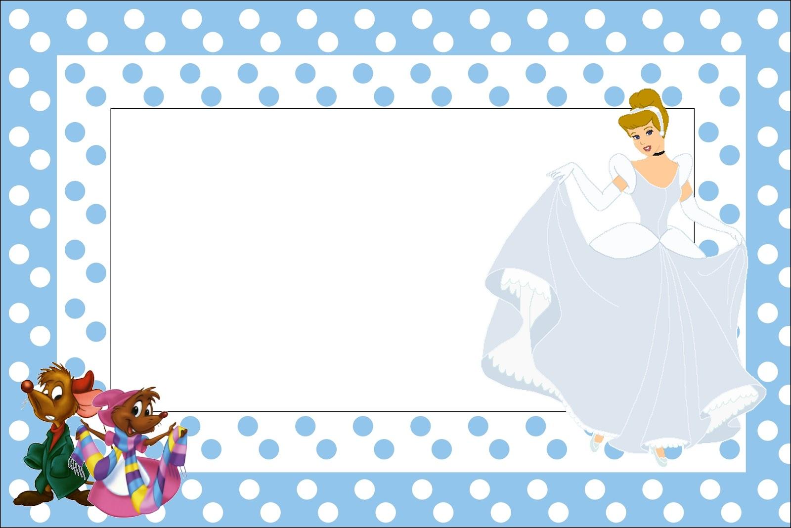 Cinderella Birthday Printables Free