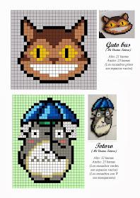 Anime Hama Beads Pattern post by wememade