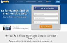 Crear sitios web gratis Weebly