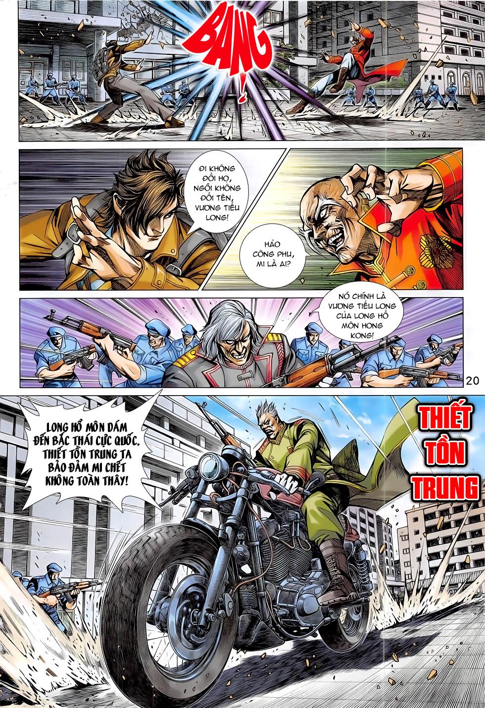 Tân Tác Long Hổ Môn chap 794 Trang 20 - Mangak.info