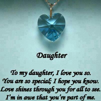 life inspiration quotes my daughter is my greatest gift quote