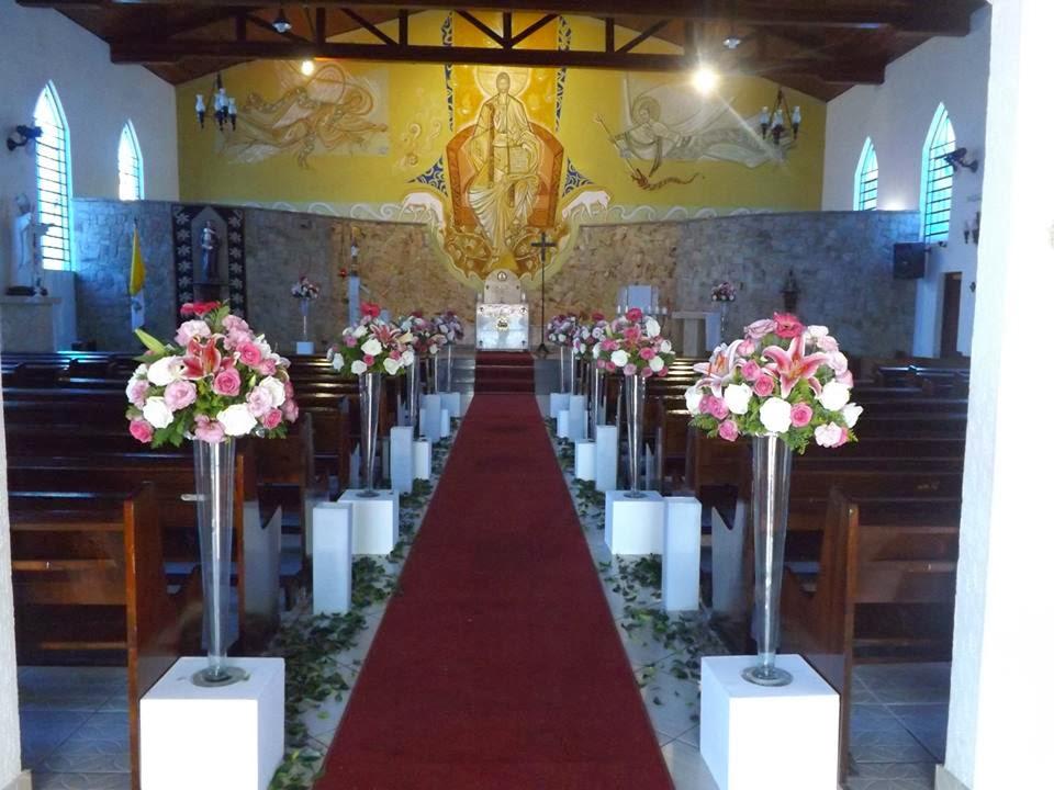 decoracao branca e rosa para casamento: de Casamentos e Festa Tagliari ...