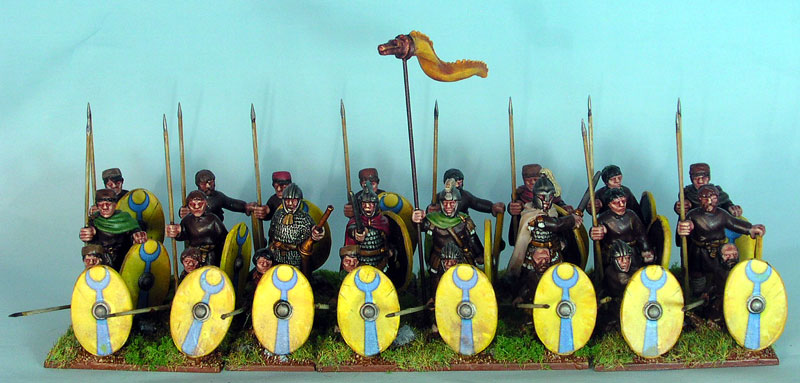 tom u0026 39 s toy soldiers  wab late roman army for peterborough