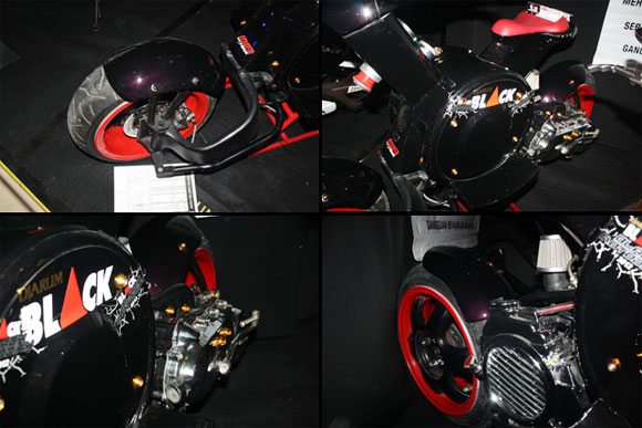 Modifikasi Vario Matic peseta Djarum Black Motodify 2012 Solo title=