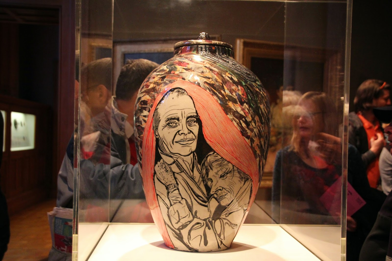 Who are you grayson perry at the national portrait gallery this pot was probably the most moving and covers a couple affected by alzheimers reviewsmspy