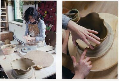 Ceramica Lucia Catuxo. Casa do Cura.