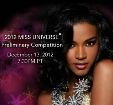 Miss Universe 2012 Preliminary Competition