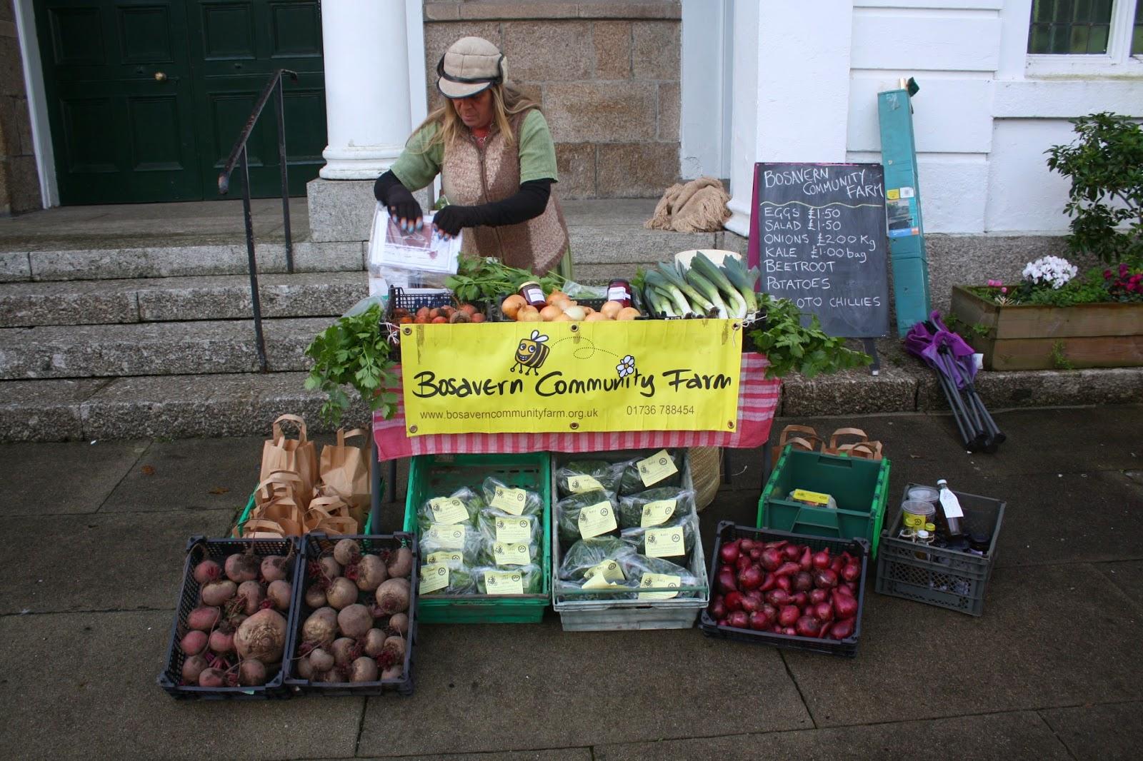 Bosavern Community Farm: Chapel Street Christmas Market