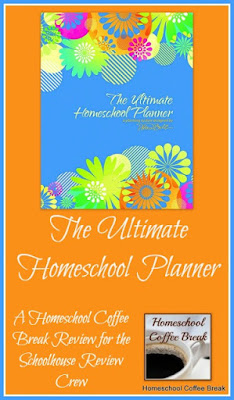 The Ultimate Homeschool Planner - A Schoolhouse Crew Review on Homeschool Coffee Break @ kympossibleblog.blogspot.com