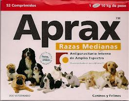 Antiparasitario APRAX para perros y gatos