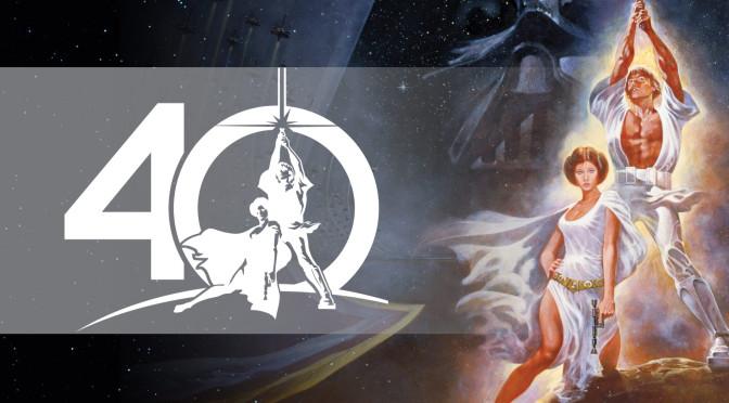 Celebrating 40 years of Star Wars