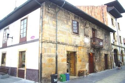 Villaviciosa, casa natal de José Caveda y Nava