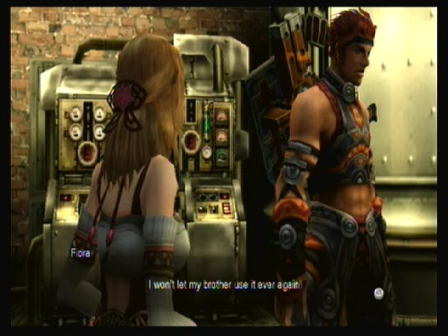 Fiora (to Reyn): 'I won't let my brother use it ever again!'