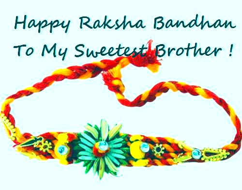 Happy Raksha Bandhan threads images