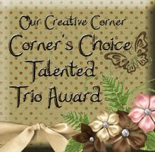 Talented Trio win at Our Creative Corner