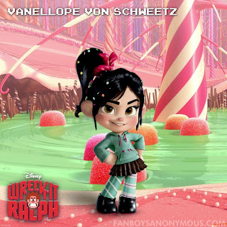Sarah Silverman Wreck It Ralph Vanellope Von Schweetz YouTube