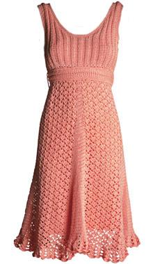 Vestidos em Crochê - parte 2