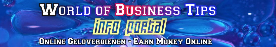 Geld verdienen im Internet - Earn Money online
