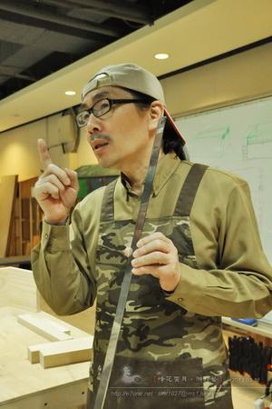 當代木工藝術研習所-台北木工教學課程工坊教室-陳秉魁木工老師