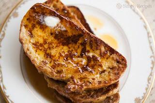 Αυγοφέτες με μέλι και κανέλα