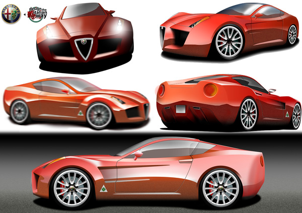 alfa romeo 4c competizione vintage cars. Black Bedroom Furniture Sets. Home Design Ideas