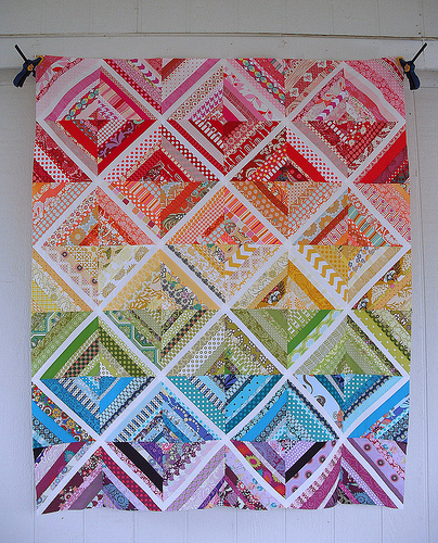 Sewing Your Quilt Block, and The Confetti Block Tutorial - Happy ... : string quilting tutorial - Adamdwight.com