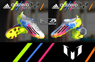 PES 2013 Adidas Adizero IV Next-Generation Messi