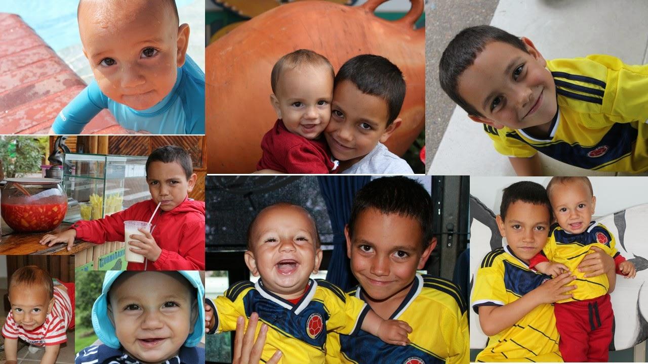 Nacho e Iker en Colombia