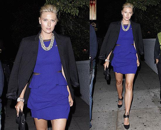 maria sharapova tennis shoes. maria sharapova tennis dress.