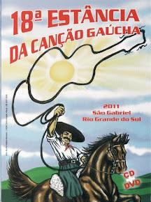 2011 - CD e DVD da 18ª Estância da Canção Gaúcha