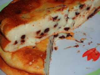 Torta Ricotta e Nutella Senza Lievito